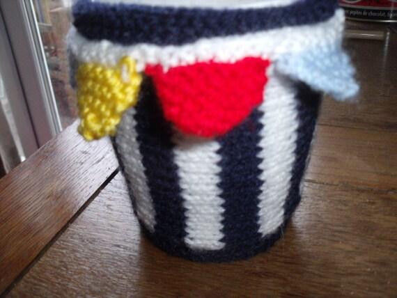 Hand knitted mug hug / mug cosy