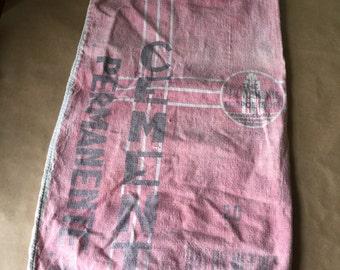 Vintage Permanente Corporation Cement Bag