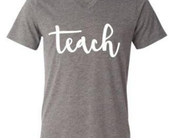 Teach Shirt - Contact for Customization