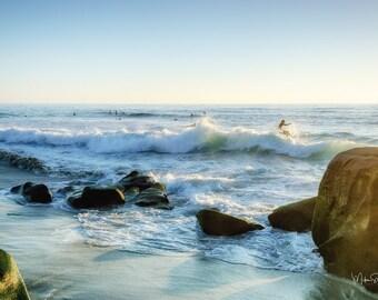 Surfing at Windansea Beach