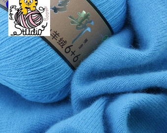 Mongolian Cashmere Hand-knitted Cashmere Yarn