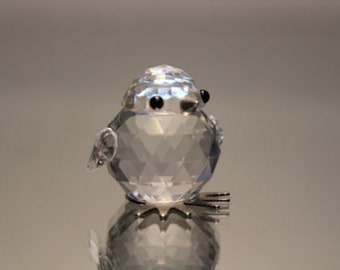Swarovski Crystal mini Baby Chick Chicken 7651 NR 20 Mint Silver Beak