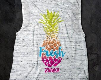 Zumba Flowy Scoop Muscle Tank