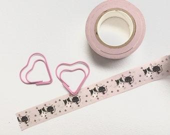 Cute cat washi tape