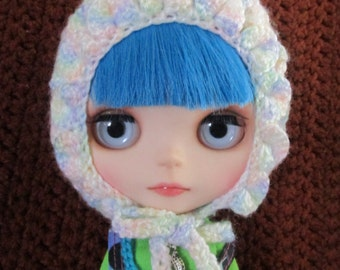 Hand Crocheted Blythe Pixie Gnome Hat - C