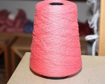 3/2 Pearl Cotton cone, color Coral 280