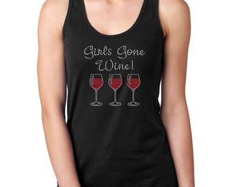 Girls Gone Wine Tank Top
