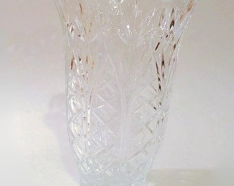 Waterford Crystal Cut Vase