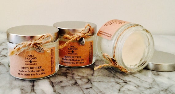 Body Butter with Moringa Oil (Vegan & great for Eczema).