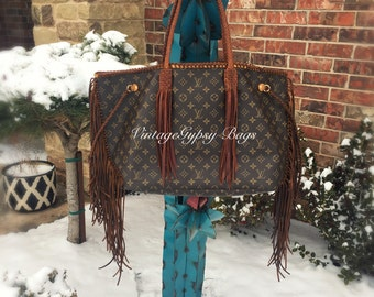 Absolutely gorgeous Neverfull GM with hand braided straps