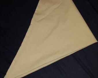 Fursuit bandana headscarf white