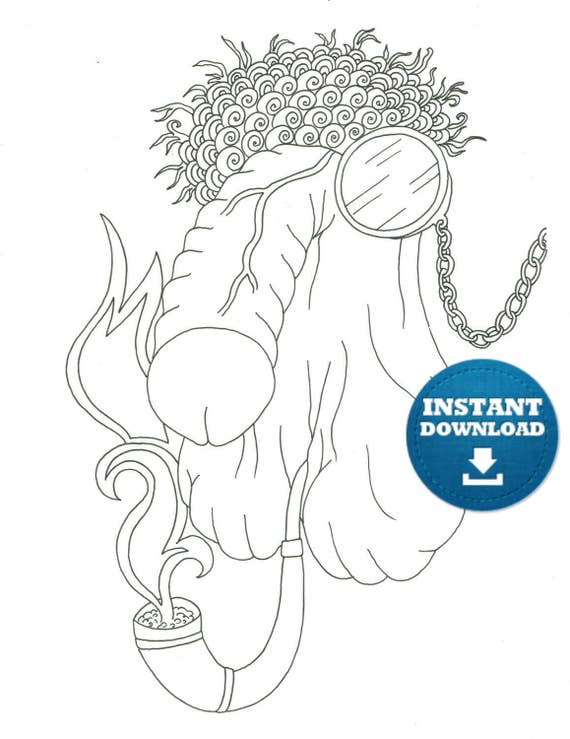 penis coloring book 20 pages instant download naughty adult coloring book zentangle penis art printable cunt doodle xrated colouring page - Penis Coloring Book