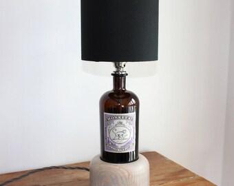 Handmade Gin Bottle Lamp (Monkey 47)
