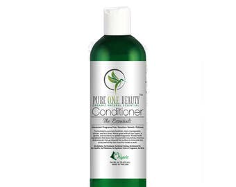 The Essentials Unscented Conditioner (Unscented / Fragrance Free / Sensitive / Growth / Volume) Organic/Vegan/Natural Hair Conditioner
