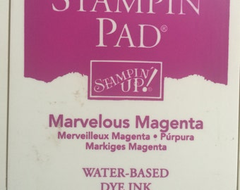 Retired Stampin up ink pads