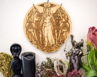 Altar pentacle, Hecate