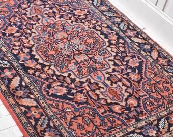 3.6 x 5 | MINKA | Vintage Persian Rug - FREE SHIPPING