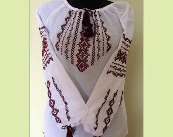 Ukrainian Embroidered Blouse