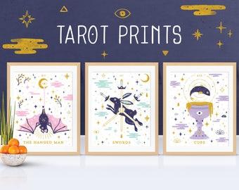 Animal Spirit Tarot Giclée Prints