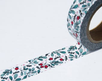 Red Berries Washi Tape