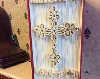 Mothers Day Book fold