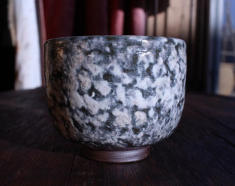 "Little ""cloudy"" bowl  //  white slip  //  ceramic  // stoneware"