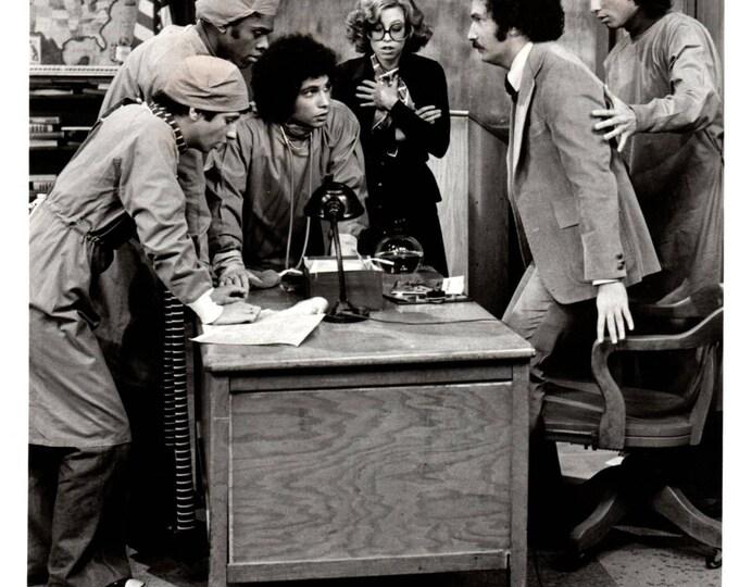 Welcome Back Kotter Cast 1975 Premiere ABC Press Photo