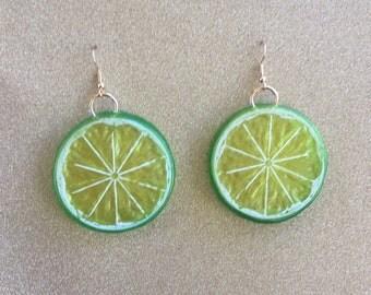 Citrus Slice Earrings (more colours)