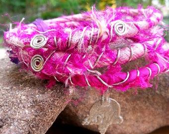 Wrapped Bangles -- Sugarplum Fairy
