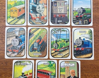 Vintage | Thomas the Tank | Snap Cards