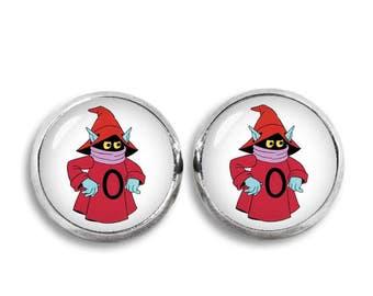 Orko Stud Earrings He Man earrings Comics Fandom Jewelry Cosplay Fangirl Fanboy