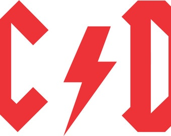 AC/DC Decal