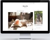 SALE | Marielle | Responsive Blogger Template