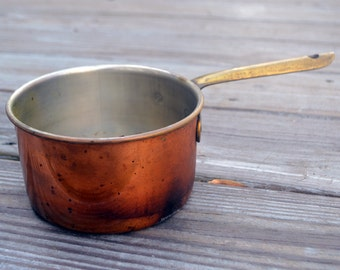 Vintage Copper Copral Sauce Pan Made in Portugal