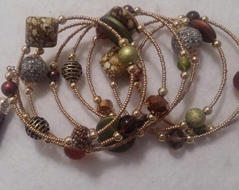 Long Wrap Bracelet