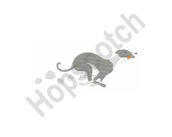 Greyhound dog - Machine Embroidery Design