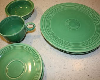 Green Fiesta Dishes