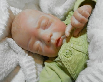 Reborn Baby, Reborn Baby boy, Fake Baby, OOAK Doll, Realistic Baby Doll, OOAK Baby, Hand Painted Doll, Newborn Baby Doll. Collectible Doll