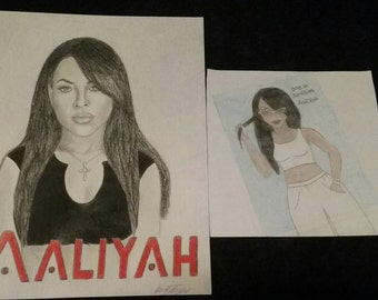 Aaliyah fan art