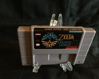 Legend of Zelda Parallel Worlds Super Nintendo SNES Game