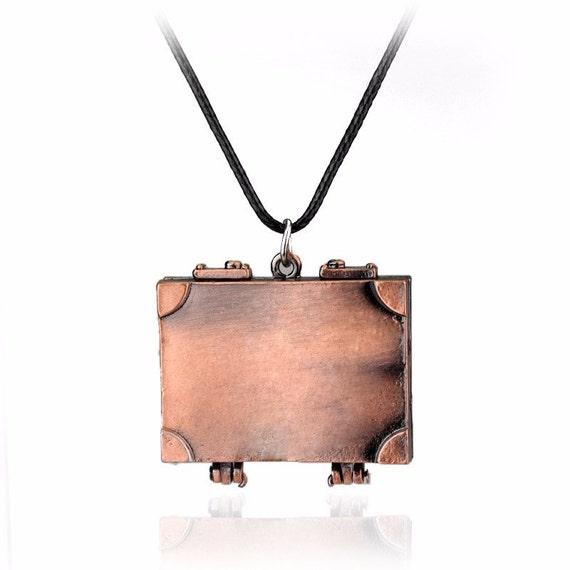 Fantastic Beast Newt's Suitcase Necklace