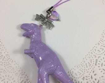 Kawaii Pastel Dinosaur Phone or Bag Charm