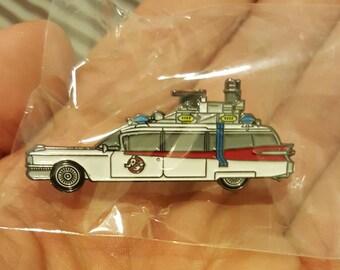Ghostbusters 1984 Ecto-1 retro enamel pin