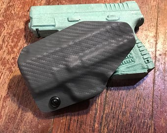 Springfield xds 3.3 kydex holster 9mm 40cal and 45