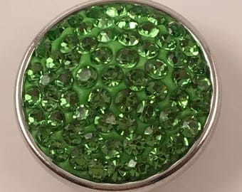 18mm Snap, Color - Green