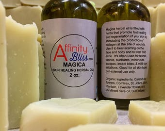 Herbal soap for dry, damaged skin Magica!