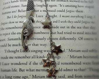 Glow in the dark mermaid bookmark