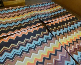 Zig Zag Melamine MISSONI Set of 4 dinner Plates