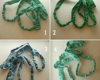Fabric Bead Necklace Aromatherapy