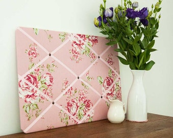 Classic Pink Rose Pinboard